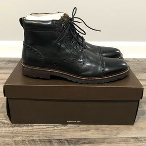 Florsheim Estabrook Cap Toe Boot Size 10